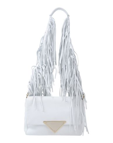 SARA BATTAGLIA Shoulder Bag in White