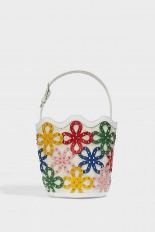 SARA BATTAGLIA 'Flower Bucket' Bag