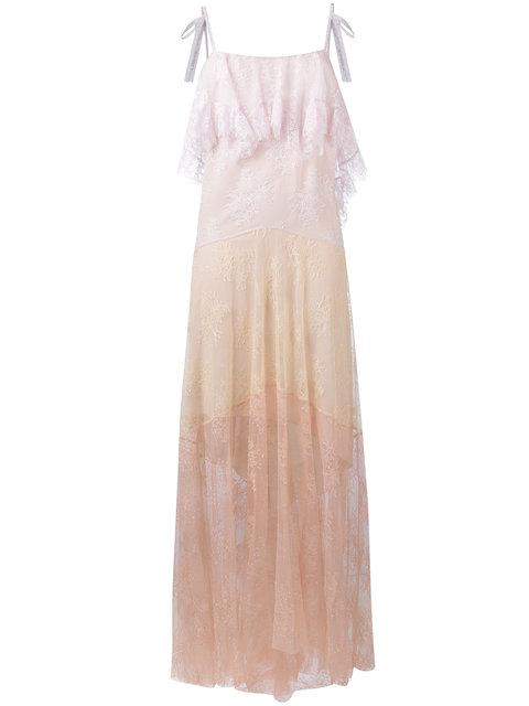 PHILOSOPHY DI LORENZO SERAFINI Lace Maxi Dress