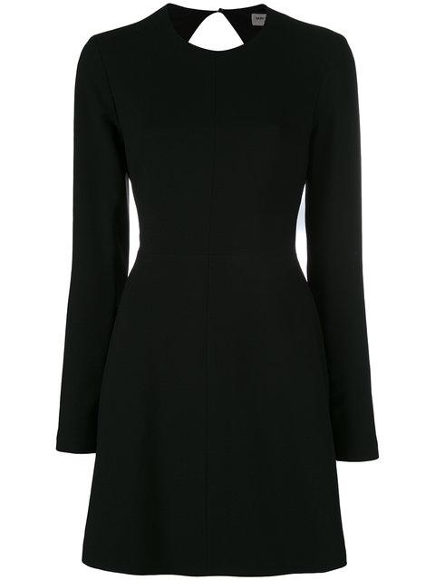 SAINT LAURENT Tie Back Mini Dress