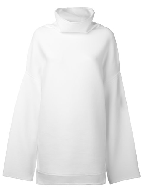 DKNY Extra Long Sleeve High-Neck Pullover