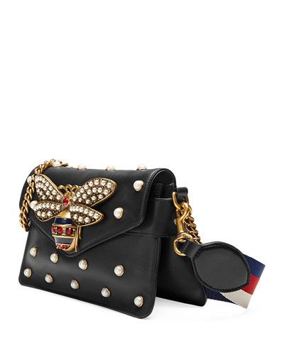 Embellished Broadway Shoulder Bag