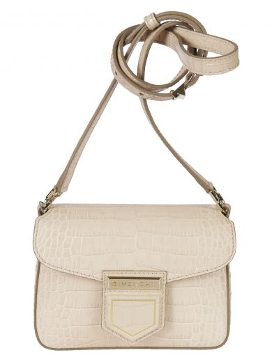 Givenchy Leathers Givenchy Mini Nobile Shoulder Bag