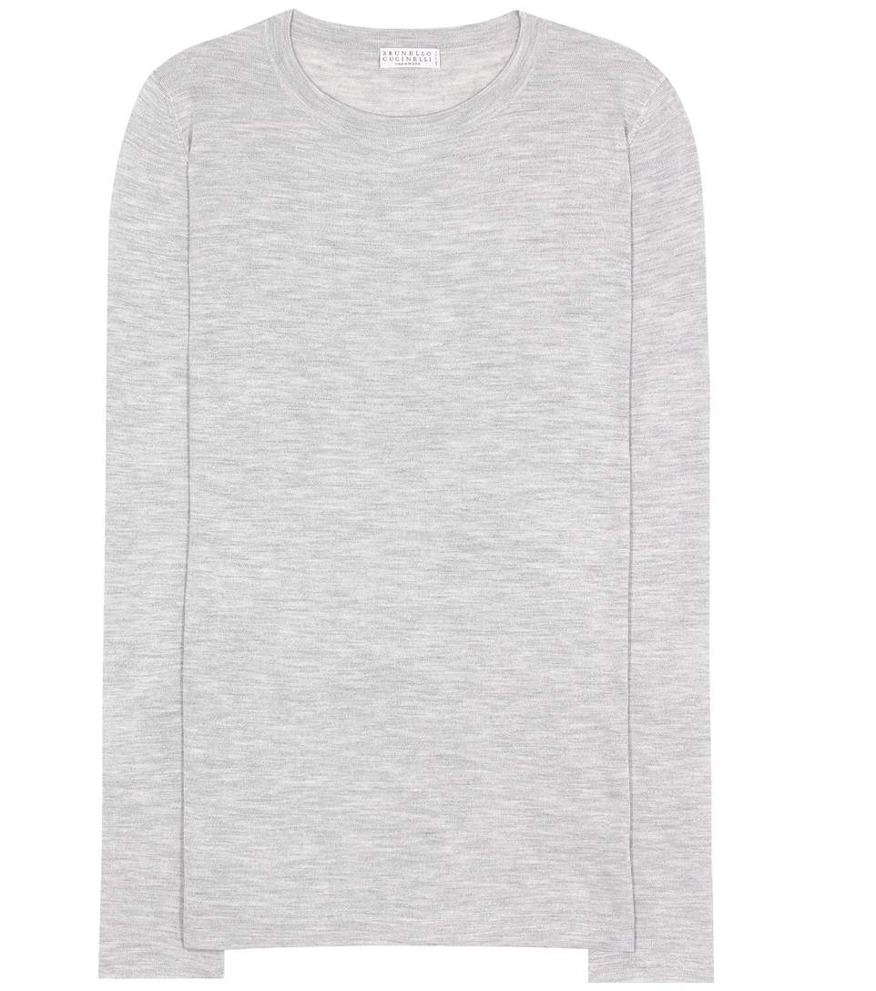 CASHMERE AND SILK TOP