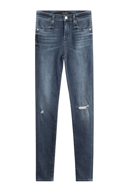 J Brand Denims Distressed Skinny Jeans