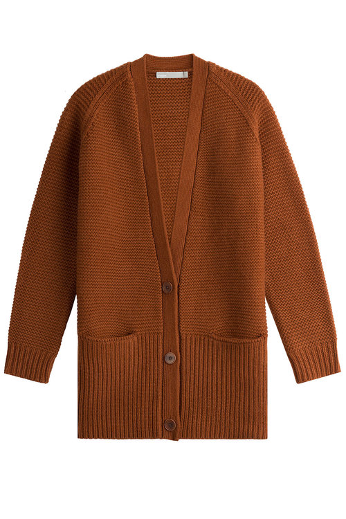Vince Wools Wool and Cashmere Cardigan