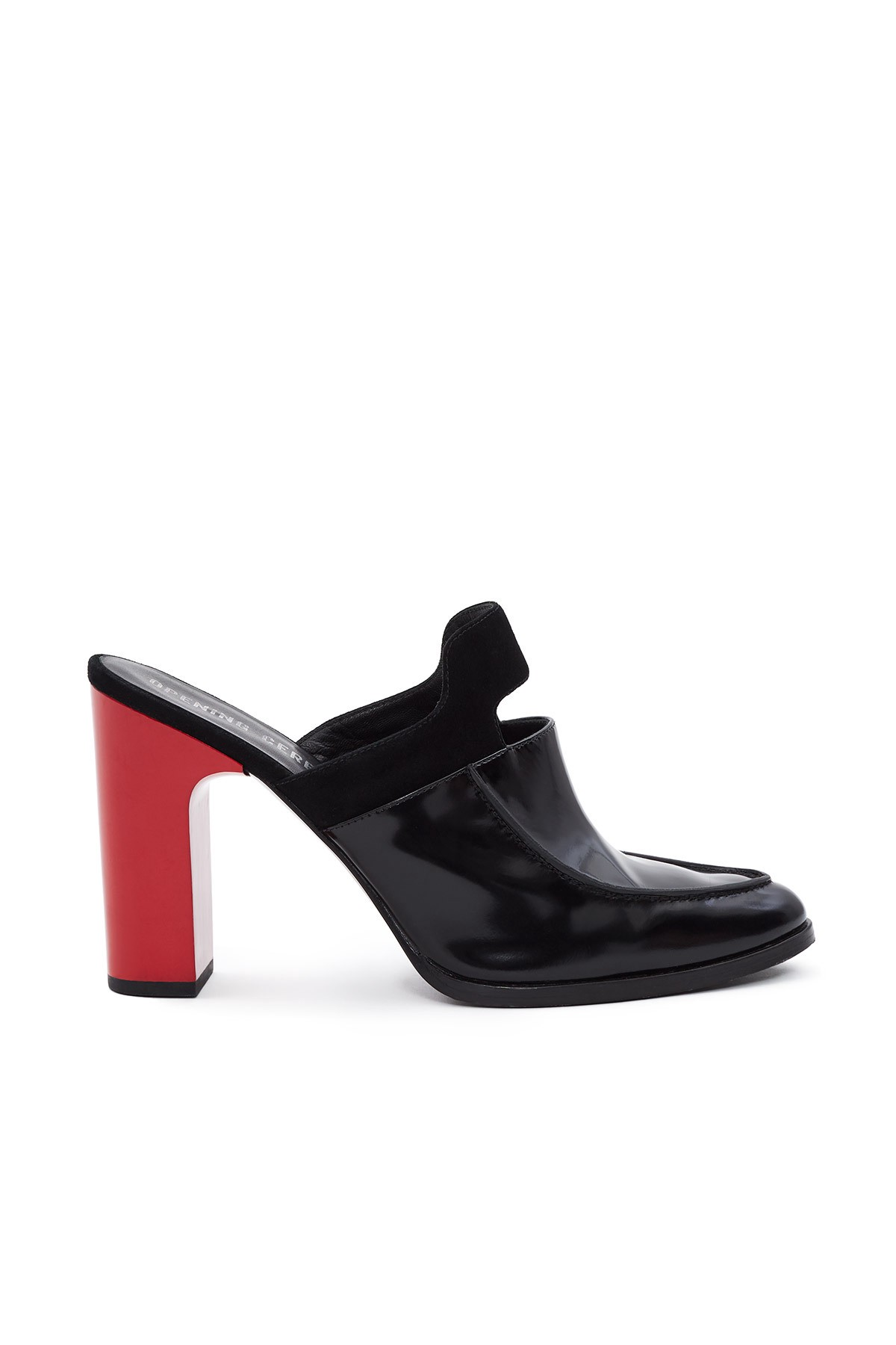 Opening Ceremony Leathers MORGAAN MULES - BLACK