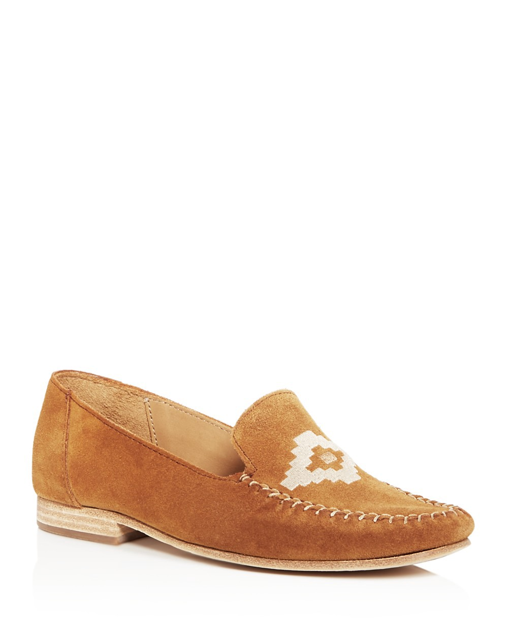 Soludos Suedes SOLUDOS EMBROIDERED LOAFERS