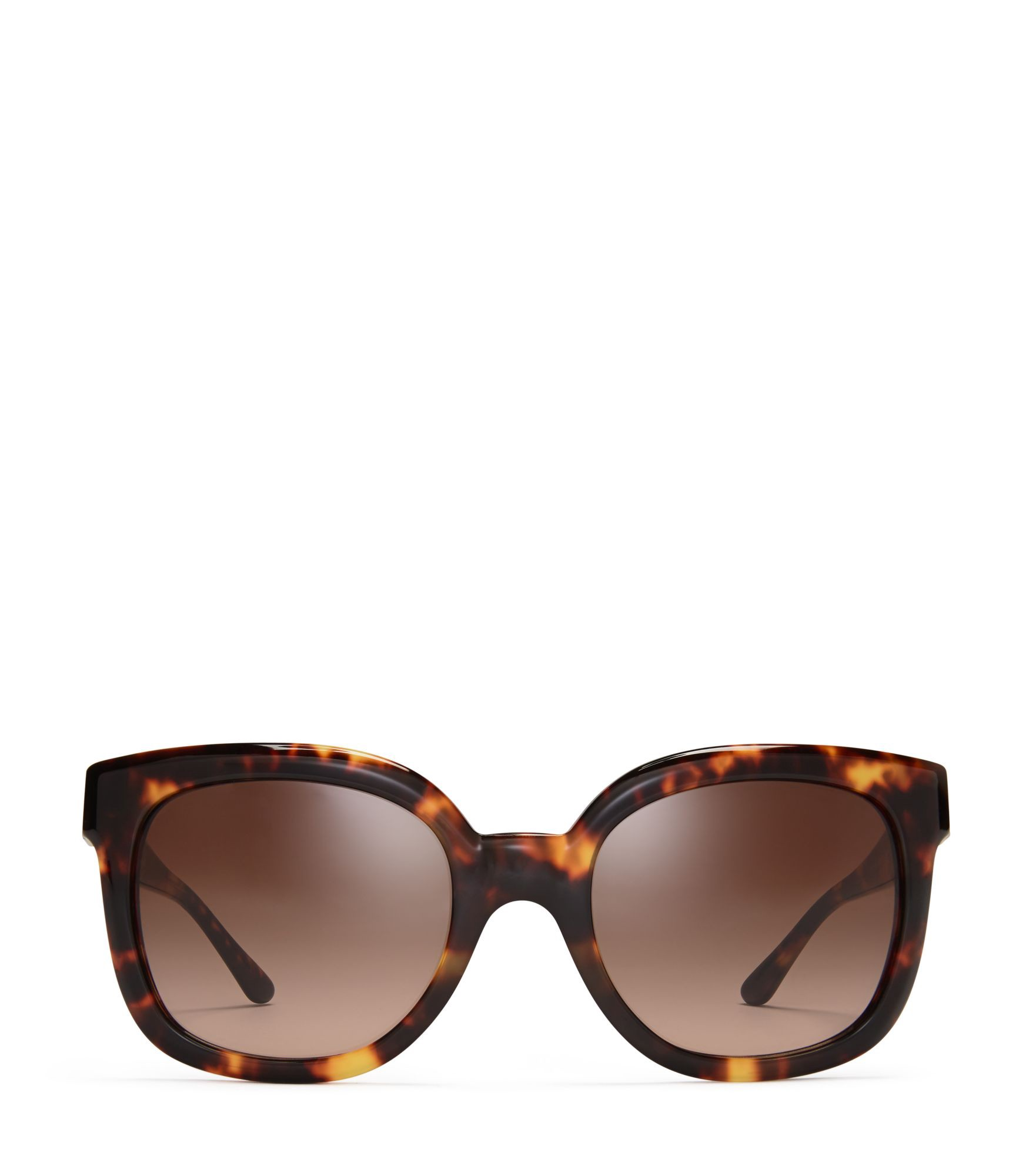 Tory Burch Modern T Cat Eye Sunglasses Vintage Tortoise
