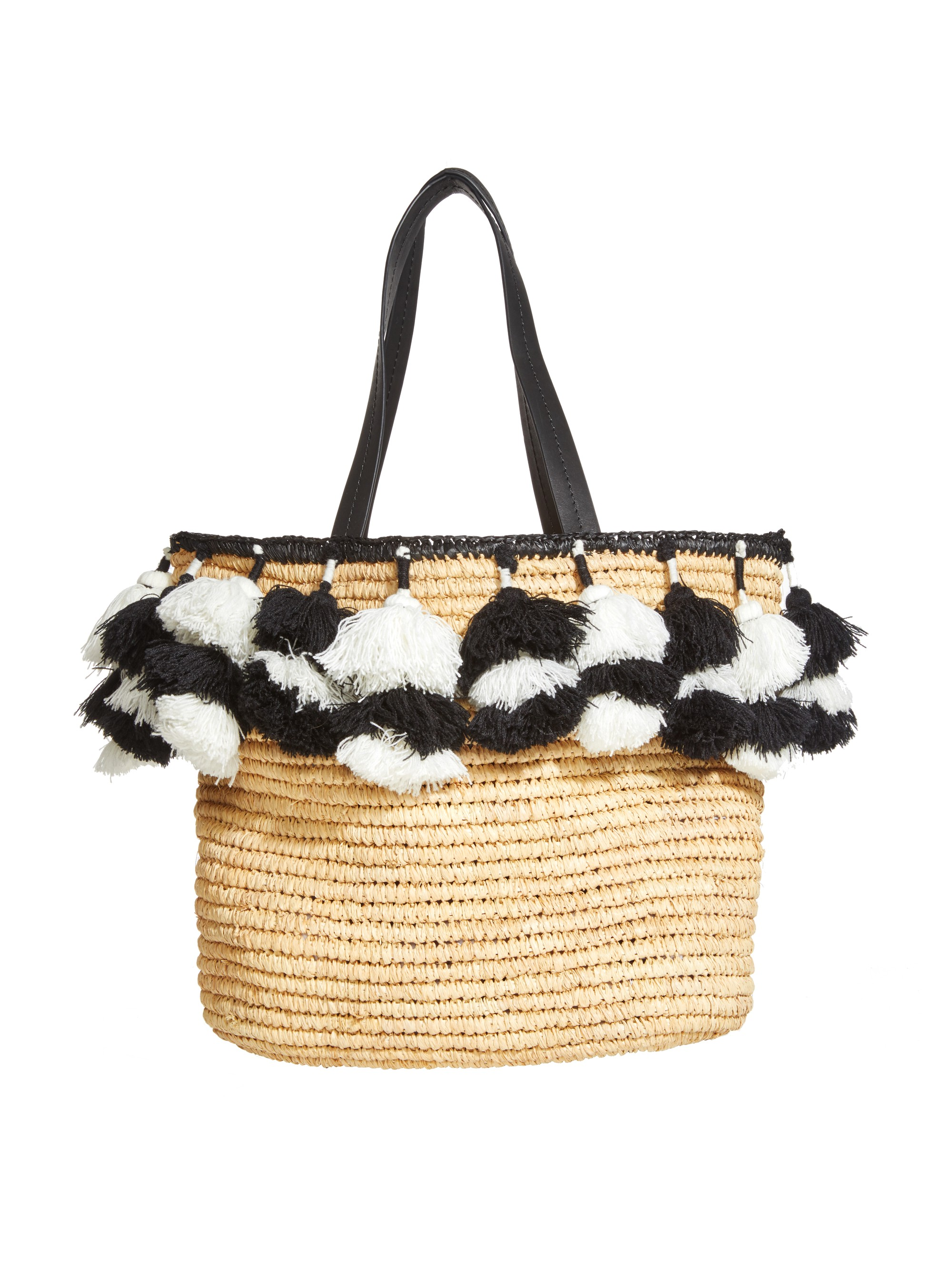 ALICE AND OLIVIA Sally Pom Pom Tote - Multi
