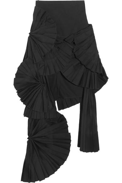 JACQUEMUS Asymmetric High Waisted Skirt   ModeSens