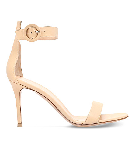 Louis leather heeled sandals