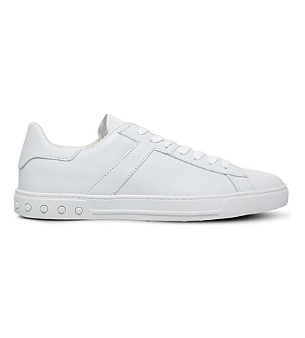 Tod's Leathers Tennis leather trainers