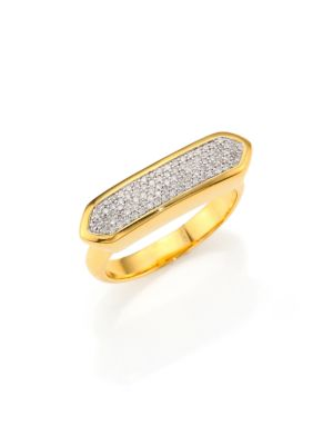 Monica Vinader Rings Baja Diamond Ring