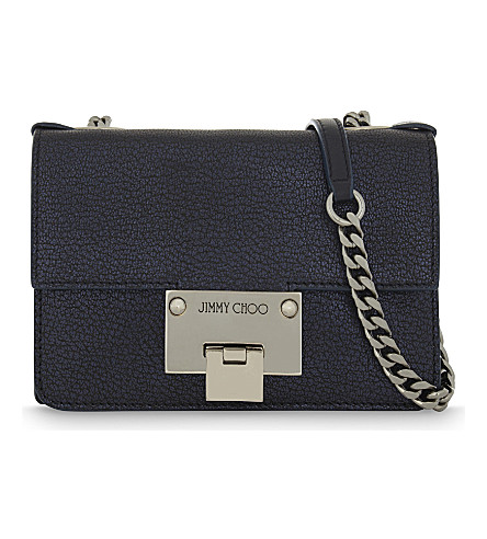 Jimmy Choo  Rebel Mini leather cross-body bag