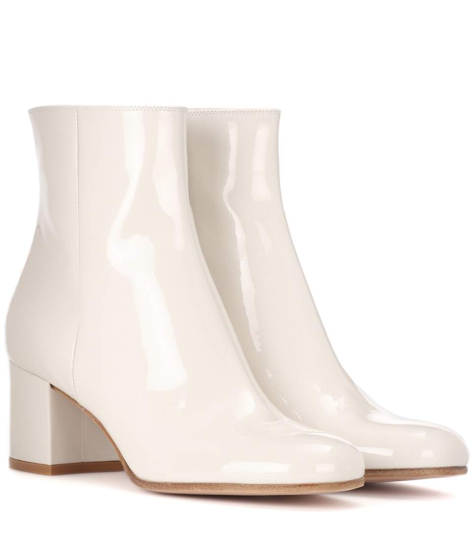 Exclusive to mytheresa.com – Langley 85 leather ankle boots