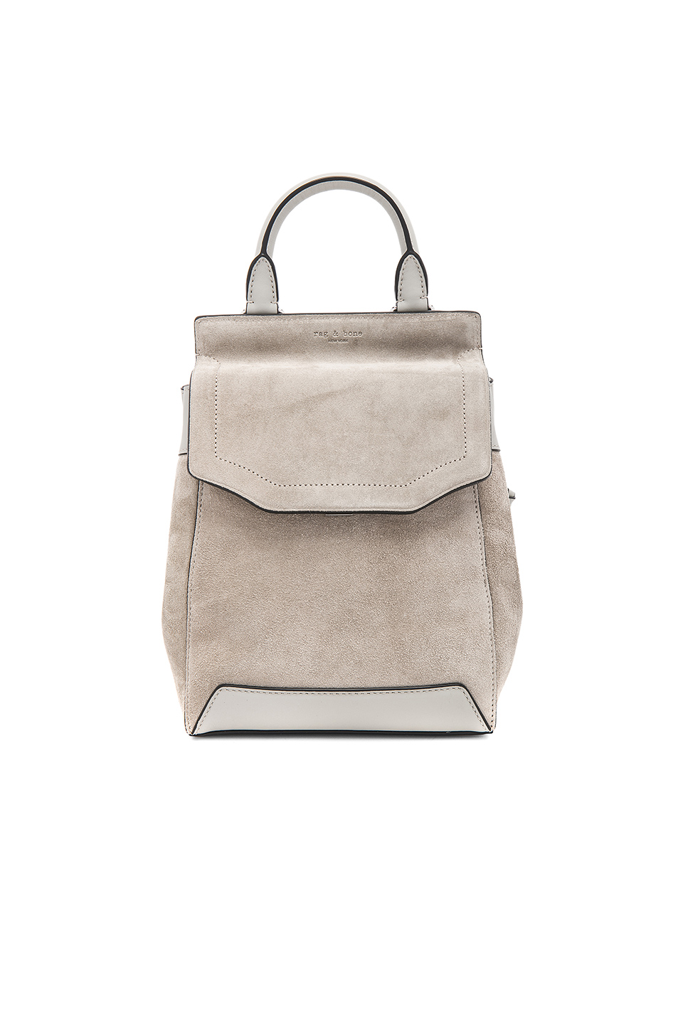 SMALL PILOT BACKPACK IN GRAY.
