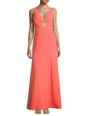 Open Back Evening Gown