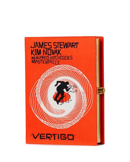 OLYMPIA LE-TAN Vertigo Movie Poster Clutch Bag, Orange