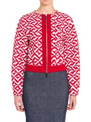 Giorgio Armani Bomber jackets Long Sleeve Jersey Jacket