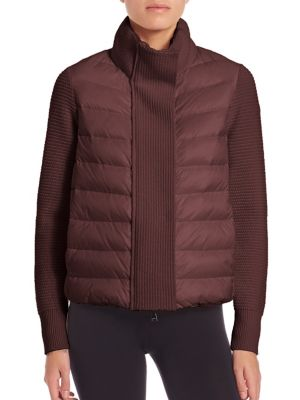 Moncler Knit Cardigan Coat