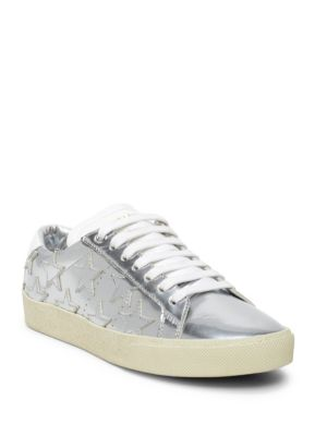 Court Classic Star Metallic Leather Sneakers