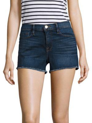 Le Cut-Off Denim Shorts