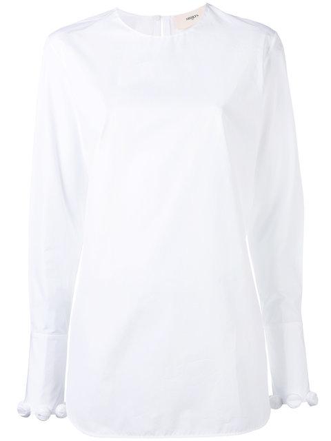 pom pom shirt