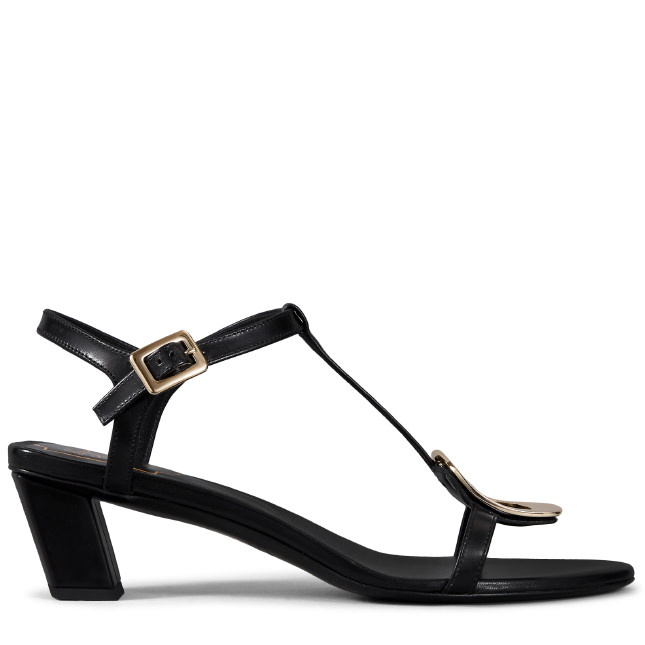45MM CHIPS LEATHER SANDALS