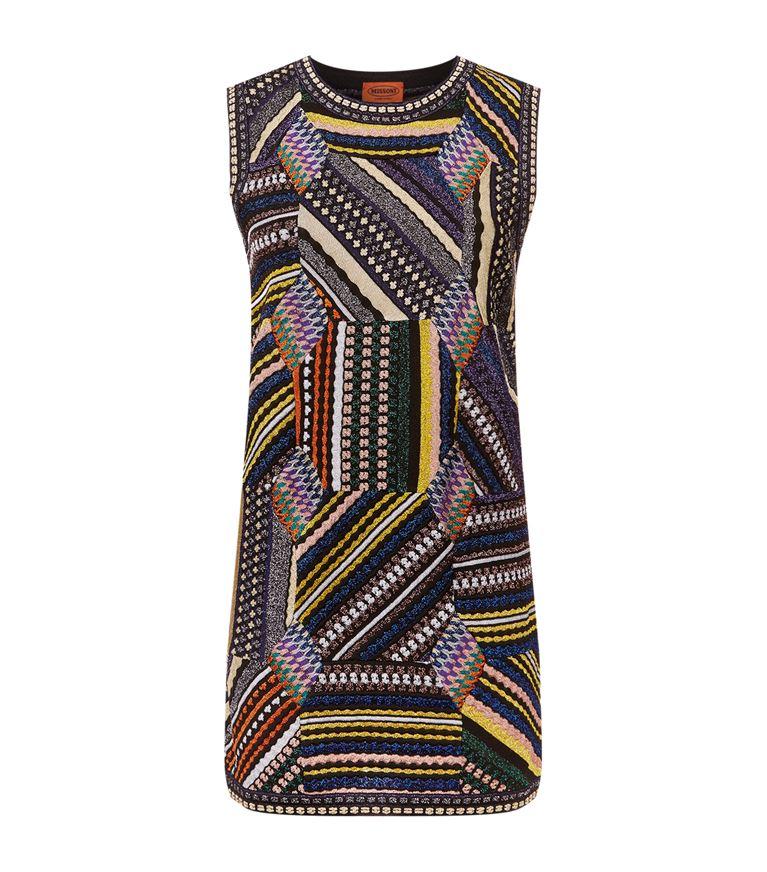 Missoni Linings Patchwork Mini Dress