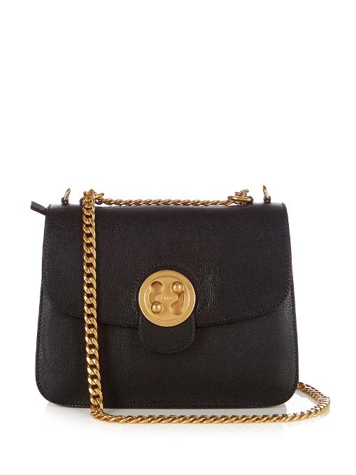 Chloé Leathers Mily medium leather shoulder bag