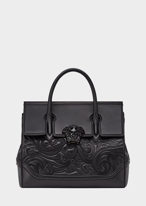 Embroidered Palazzo Empire Bag