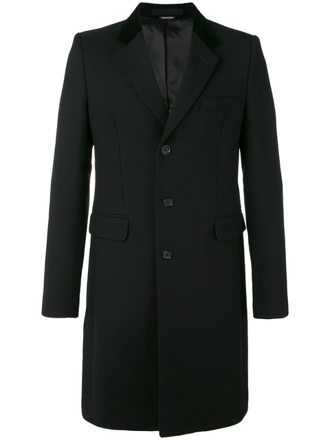 Alexander Mcqueen Downs SINGLE BREASTED COAT
