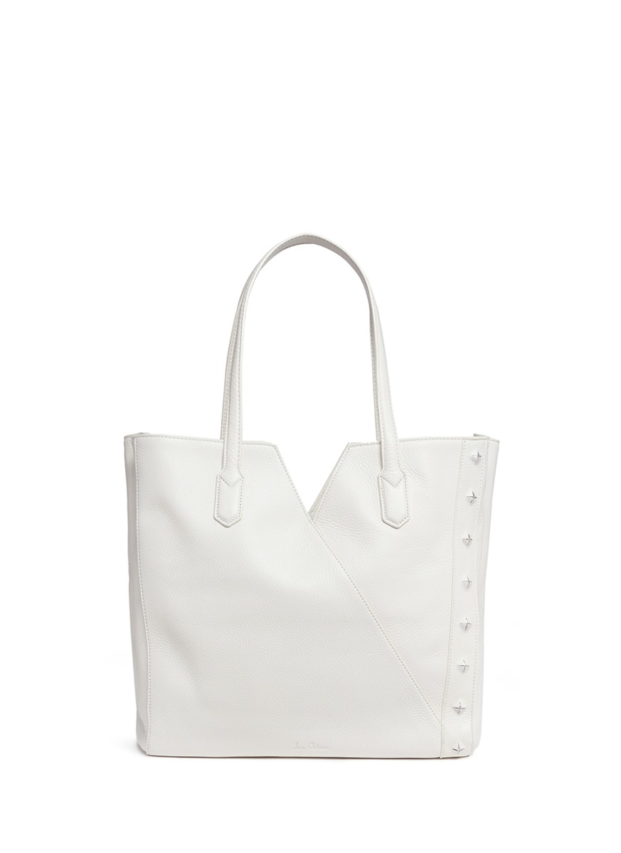 Emery Colorblock Leather Tote