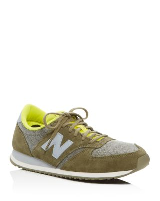 New Balance Suedes 420 LACE UP SNEAKERS