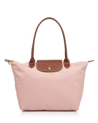 'SMALL LE PLIAGE' SHOULDER TOTE - PINK