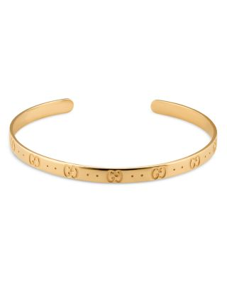 Icon 18K Yellow Gold Bangle Bracelet
