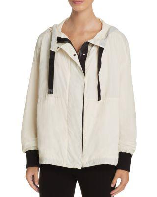 Dkny Jackets Block Hooded Jacket