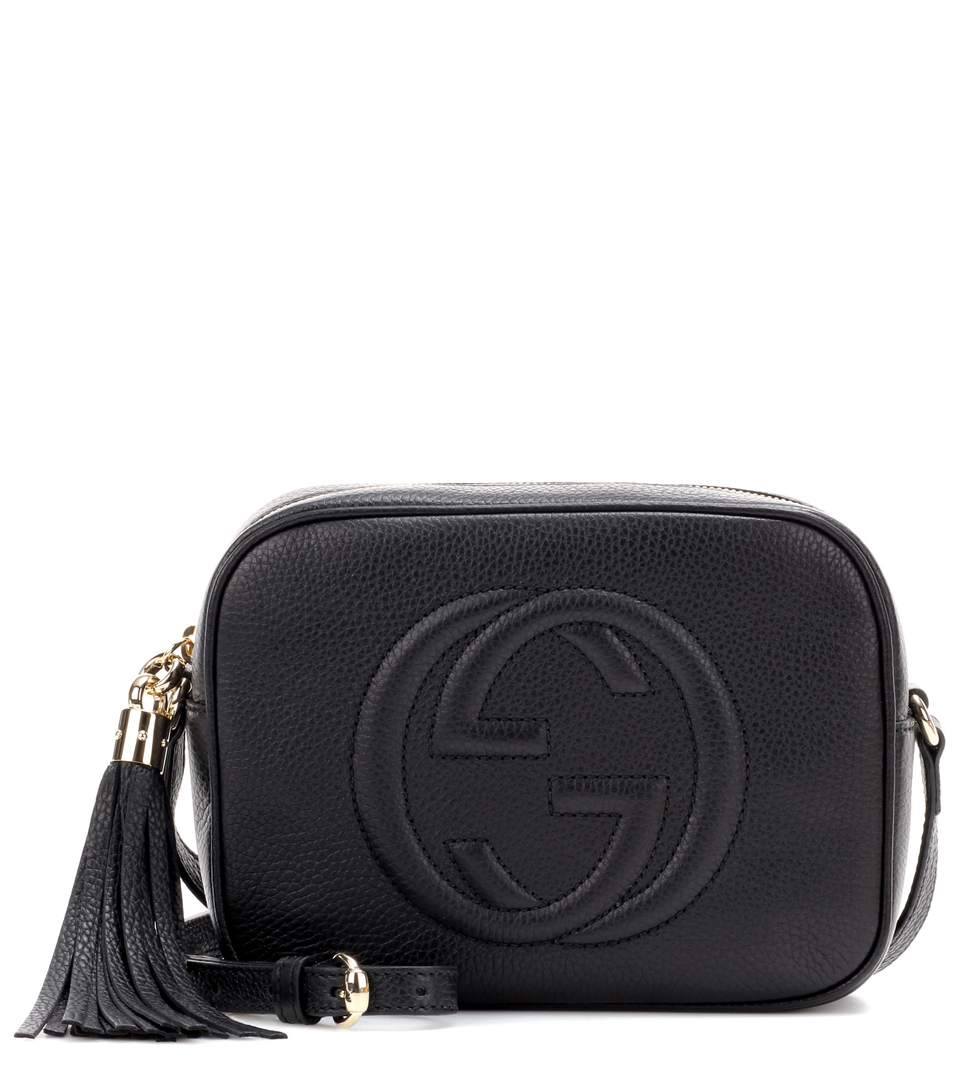Soho GG small leather cross-body bag