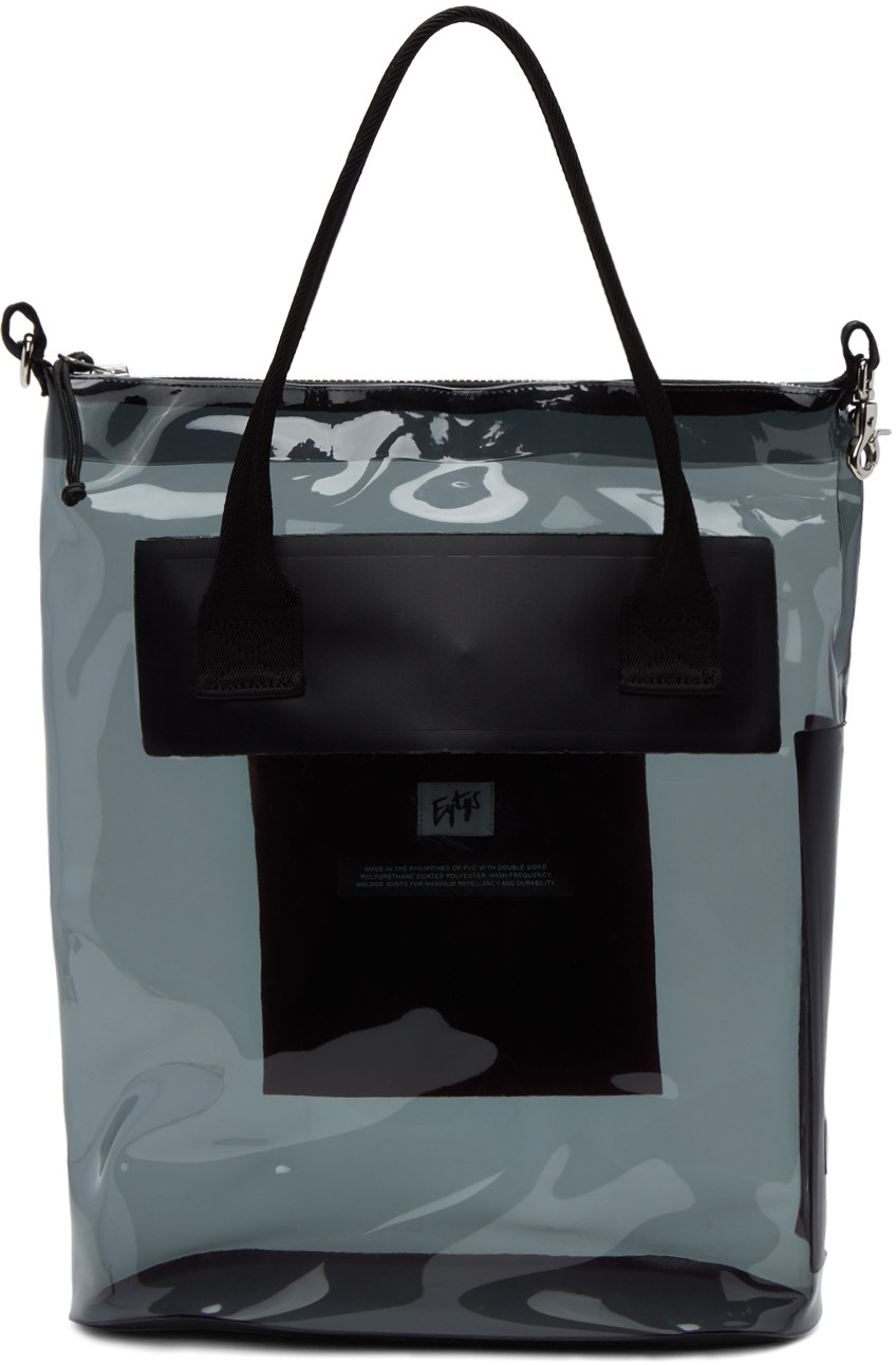 EYTYS Black Pvc Void Dp Tote