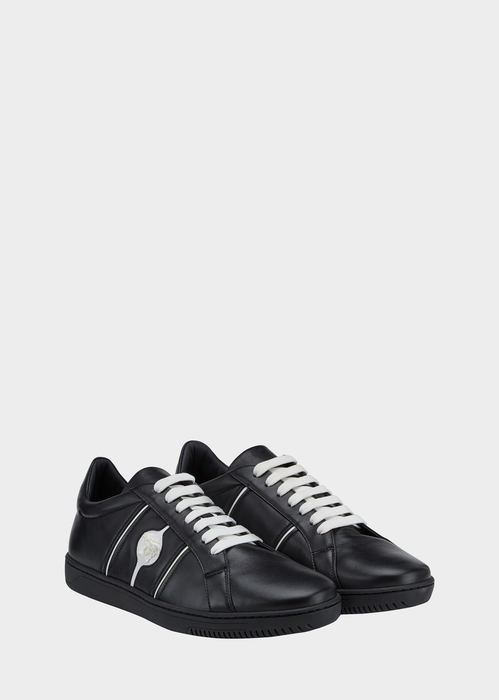Low Top Martin Leather Sneakers