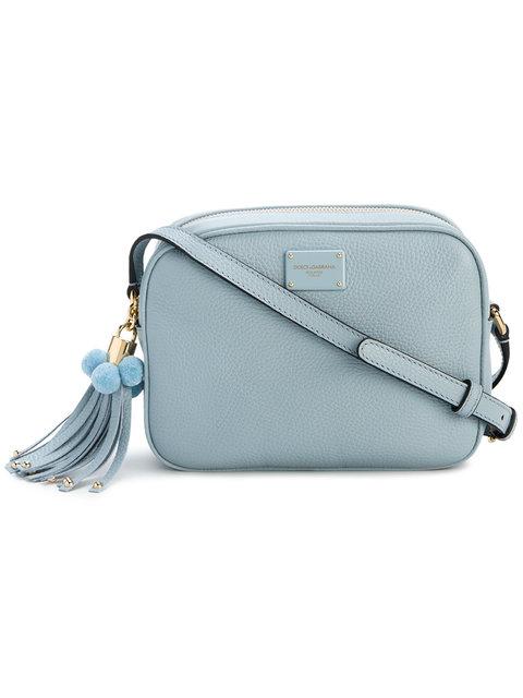 DOLCE & GABBANA Small Blue Glam Bag