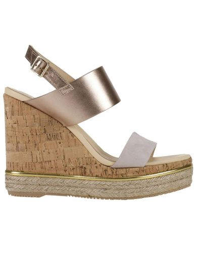 HOGAN Wedge Shoes Shoes Women in Gold