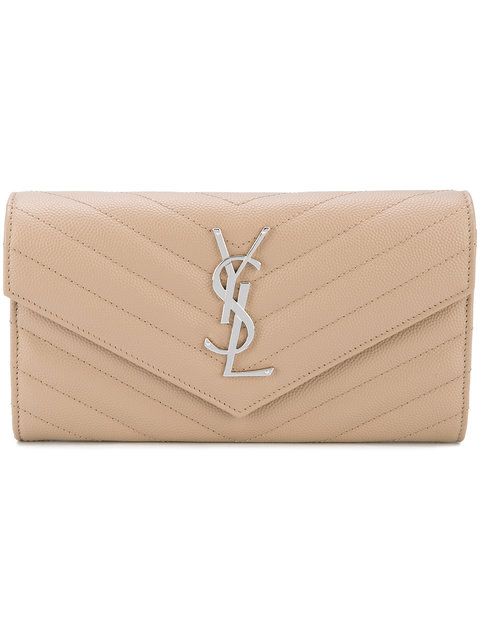 SAINT LAURENT Monogram Envelope Wallet