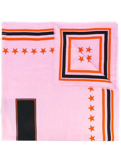 17 print scarf