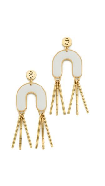 Madewell Earrings ENAMEL FRINGE EARRINGS