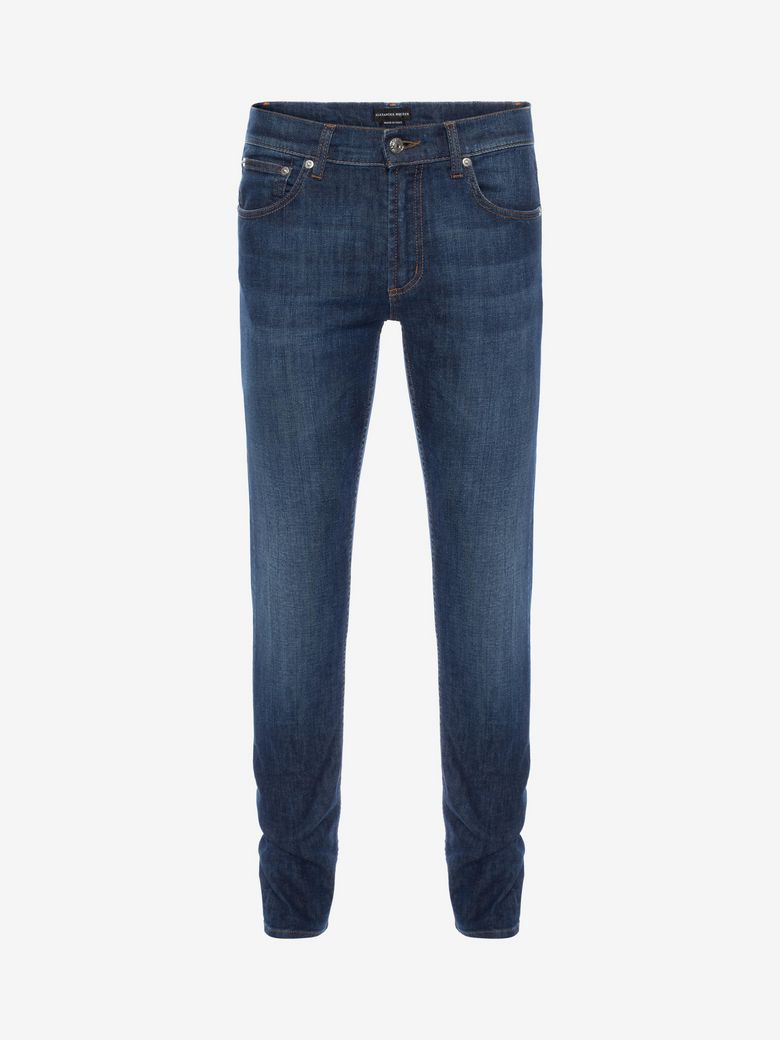 Alexander Mcqueen Cottons FITTED JEANS