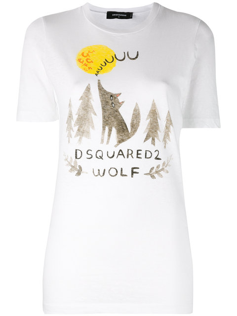 Dsquared2 Cottons embroidered T-shirt