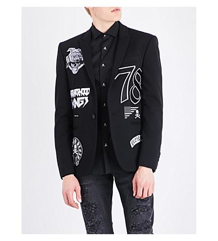 Philipp Plein Jackets Gloria slim-fit woven jacket
