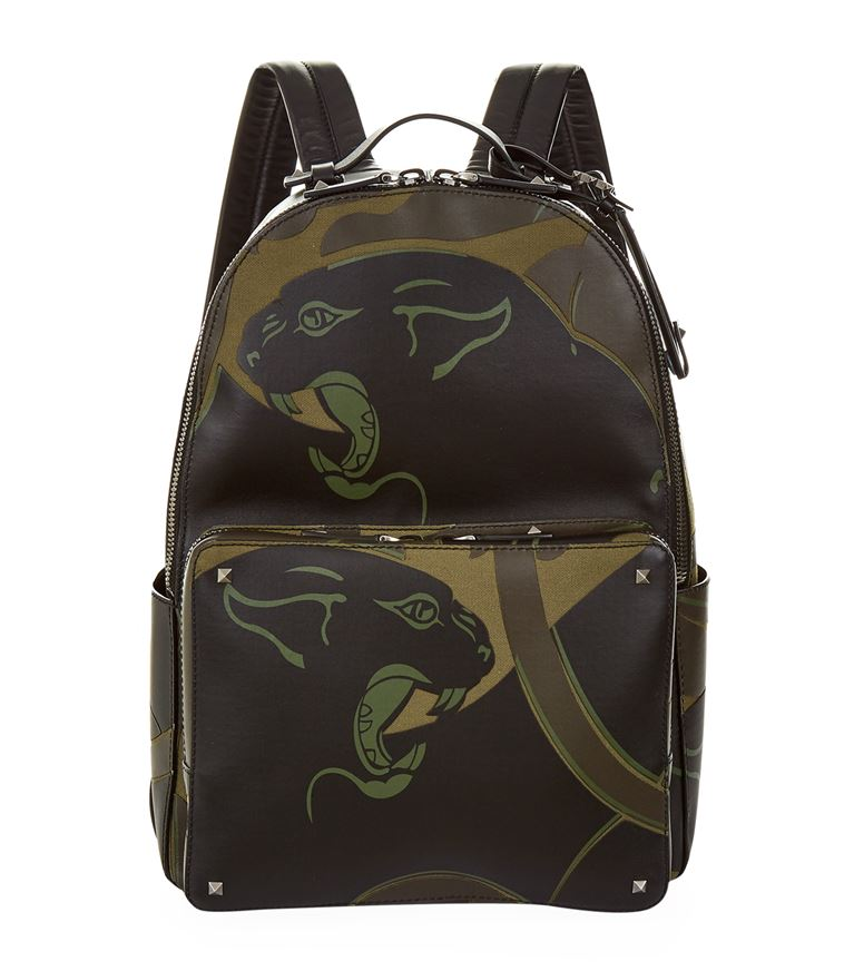 VALENTINO Panther Backpack in Green
